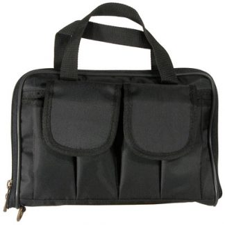 Short Pistol Case - Black Cordura