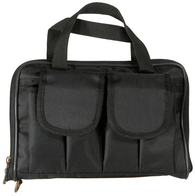 Short Pistol Case - Black Cordura
