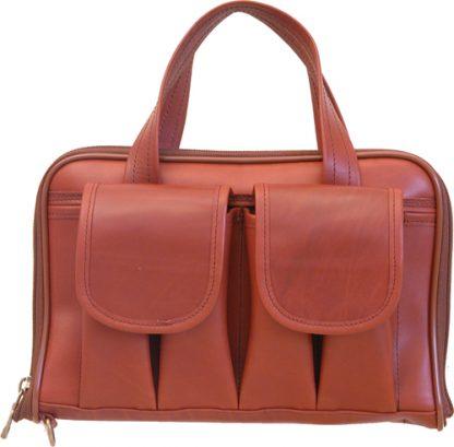 Short Pistol Case - Cordovan Leather
