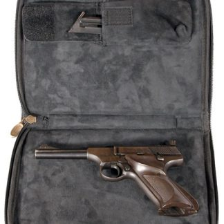 Square Pistol Case - Black Cordura