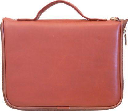 Square Pistol Case - Cordovan Leather
