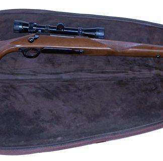 Scoped Rifle Case - Leather