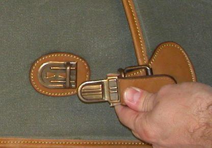 Leather & Canvas Breakdown Case - Leg O Mutton