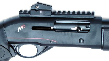 Picatinny Rail with Ghost Ring Sight