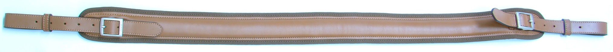 Tan Leather Sling for Shotgun and Rifle, European
