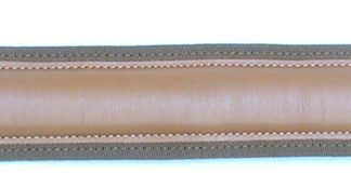 Tan Leather Sling for Shotgun and Rifle